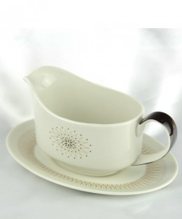 ROYAL DOULTON Morning Star / Gravy Boat & Saucer