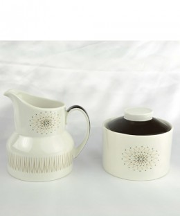 ROYAL DOULTON Morning Star / Suger Pot & Milk Jug