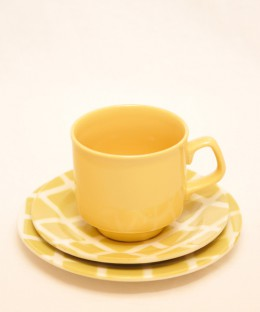 TAMS / TRIO (Cup, Saucer & Plate)
