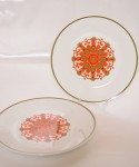 J&G Meakin Madrid / 25.5cm Plate 2 Pieces SET