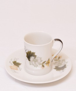 ROYAL DOULTON WEST WOOD / Demi-tasse Cup & Saucer