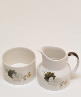 ROYAL DOULTON WEST WOOD / Milk Jug & Sugar Pot SET