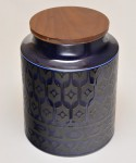 HORNSEA HEIRLOOM / FLOUR CANISTER (L) MidnightBlue