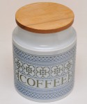 HORNSEA TAPESTRY / COFFEE CANISTER (M)