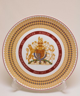 ROYAL TUSCAN COLLECTOR PLATE