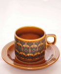 HORNSEA HEIRLOOM / Cup & Saucer (Autumn Brown)