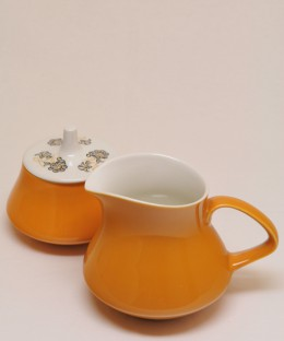 POOLE Desart Song / Sugar Pot & Milk Jug SET