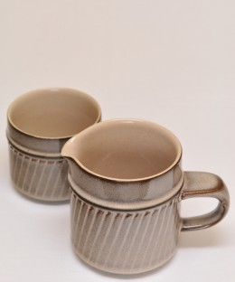 Denby Sonnet / Milk Jug & Sugar Pot SET