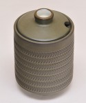 Denby Chevron / Sugar Pot